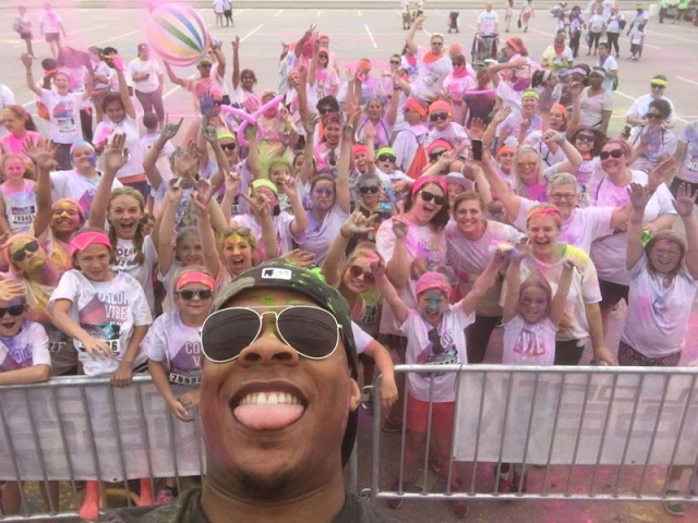 Color Vibe in Bowling Green, Ohio at Bowling Green State University