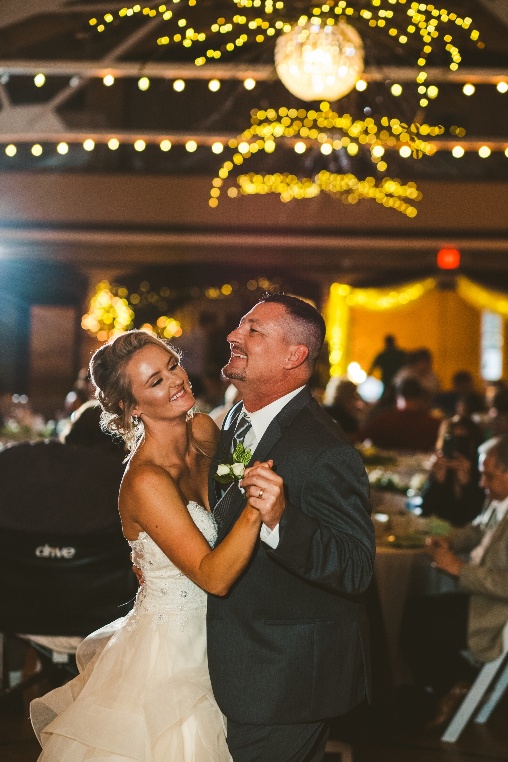 father daughter dance at the Armory in Napoleon Ohio